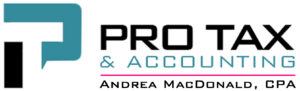 Pro Tax & Accounting logo used in the website header